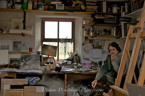 Michael Wann and studio, 2009