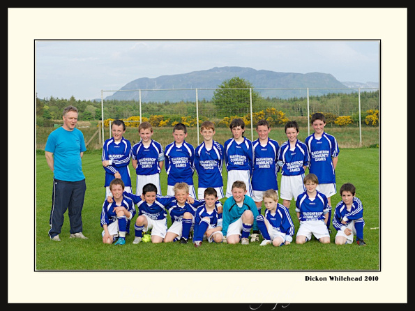 Maugherow Community Games Soccer competition
